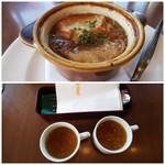 ロイヤルホスト - ◆オニオングラタンスープ◆♪ ◆コンソメスープ◆♪