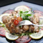 ビストロ シェカド - 鶏のマリネサラダ