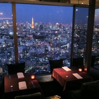 ★☆東京一望のスペシャルな夜景★☆
