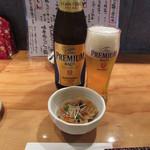 117290139 - 瓶ビール(プレモル中瓶) 720円 (2019.9)