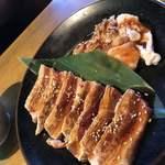 焼肉のバーンズ - お得カルビ・豚ホルモン焼肉ランチ1080円