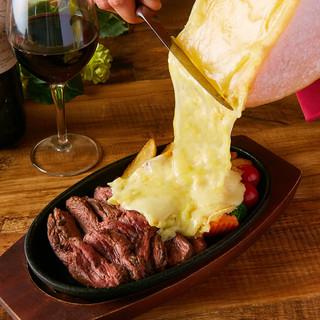 【ラクレットチーズ使用】チーズタッカルビコース3,500円