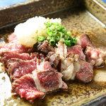 麺酒場 框 - 生ラム肉のたたき