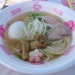 Ramen&Bar ABRI - 【のどぐろ和だしのほっこりらーめん + 煮たまごの昆布〆】¥900 + ¥120
