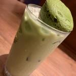 あさり家 わっしょい - ドリンク写真:抹茶フォンダンカルーアミルク