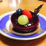 ストロベリーショートケーキ - 大人なカシス