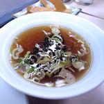 点心 - チャーハンのスープ