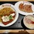 大阪王将 - 料理写真:完全無欠のゴールデン炒飯餃子セット
