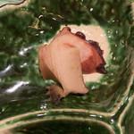 寿司 赤坂 湊 - 蒸し鮑、蛸のやわらか煮