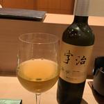 寿司 赤坂 湊 - 宇治緑茶