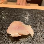 寿司 赤坂 湊 - 白甘鯛(しらかわ)