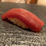 寿司 赤坂 湊 - 赤身の漬け