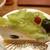 オムライス・ケーキ ダッキーダック - 料理写真:シャインマスカットのケーキ