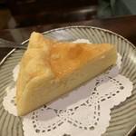喫茶 美術館 - チーズケーキ