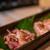 うおとり - 料理写真:地鶏 たたき(1,500円)モモ肉、ムネ肉