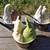 ソリッソ - ジェラート・ダブル・カップ;甘酒&抹茶(中),黒ごま&いちじく(右),黒ごま&スィートチョコレート