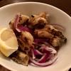 ブロシェット ボン ボン シン - 料理写真:鶏皮ポン酢