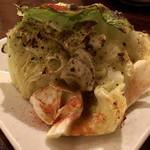 Brochette Bon Bon Shin - アンチョビキャベツ焼き