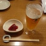 nihonshukanki - 乾杯生ビール