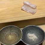 鮨 梅清 - 大間の鮃