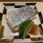 鮨 梅清 - 竹岡の太刀魚