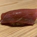 鮨 梅清 - 中トロの際の赤身
