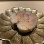 鮨 梅清 - 鮟肝のワイン煮
