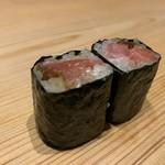 鮨 梅清 - 奈良漬トロ