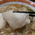 マーちゃん - 焼豚はアッサリとした味わい
