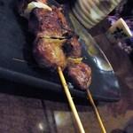 ちょいと一杯 - カシラは肉と肉の間に玉ねぎ