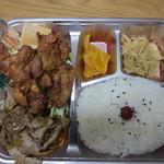 レストラン シーザー - 主人は若鶏の唐揚げとポーク生姜焼き
