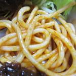 レストラン シーザー - スパゲティーのケチャップ炒め
