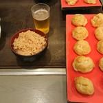よし川 - 玉子焼とたこ飯セット 850円