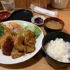 ステーキ 松阪 - 料理写真:サービスランチ(生姜焼 豚ヘレカツ エビフライ)870円