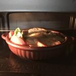 小倉銘品蔵 - 220℃のオーブンで5分焼きます