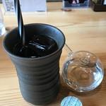 三重の海鮮市場 豊和丸 - ランチサービスのアイスコーヒー