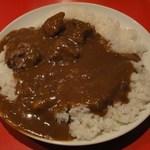 辛口料理 ハチ - カレーライス900円