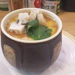 かっぱ寿司 - まあまあ美味いひと皿限定鱧と松茸の茶碗蒸し308円