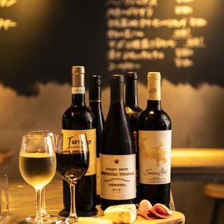 お昼からワインとお肉料理をお愉しみください