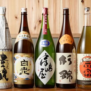 定番から通好みまで、日本酒の魅力を余すところなく味わえる。