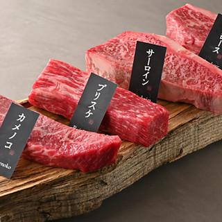 地元・千葉産の『北総花牛』のステーキは特別なシーンにも最適◎