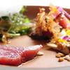 イル ギオットーネ - 料理写真:鰹のカルパッチョ デトックスサラダと