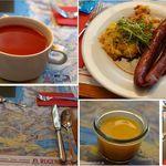 Kleine Scheidegg - ランチ。クライネシャイデック(Kleine Scheidegg,Swiss)食彩品館.jp撮影