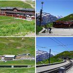 Kleine Scheidegg - ランチは駅舎地下。クライネシャイデック(Kleine Scheidegg,Swiss)食彩品館.jp撮影