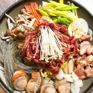 ★まる飯特製★海鮮入り牛プルコギ鍋