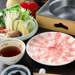 和蔵義 - 肉質に優れた京都産の銘柄豚「京都ぽーく」を、つゆしゃぶでお楽しみください。