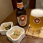 茨城地産地消の店 全席個室 もんどころ - 大好きな ネストビール ♪