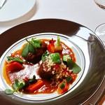 ランコントル - 料理写真:和牛すね肉のトマト煮込み