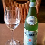 イタリアンバジル - 無料でサンペレグレノが出されるのは、嬉しい。
