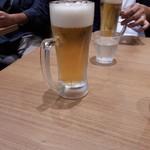 リンガーハット プレミアム - 朝からビール、良心が痛みます。(笑)